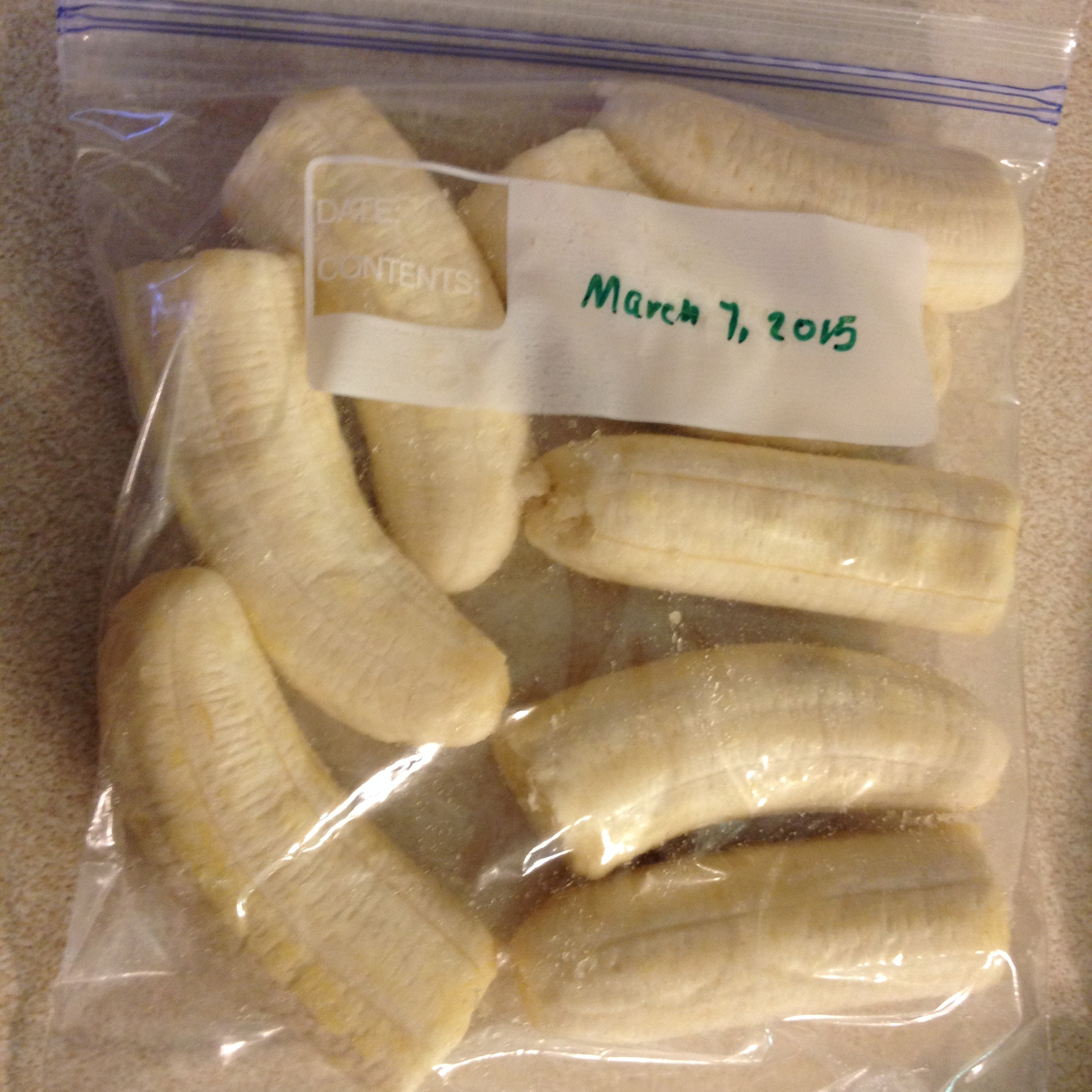 How To… Freeze Bananas