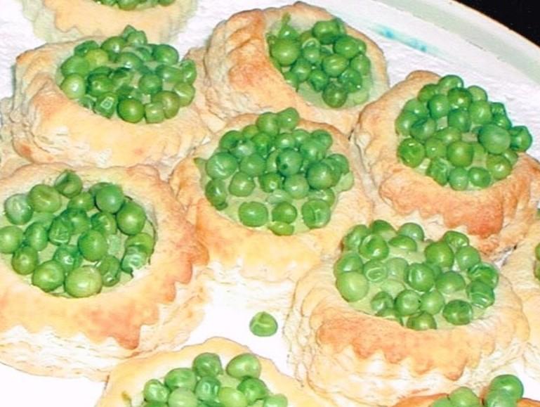 Spring Pea Tarts