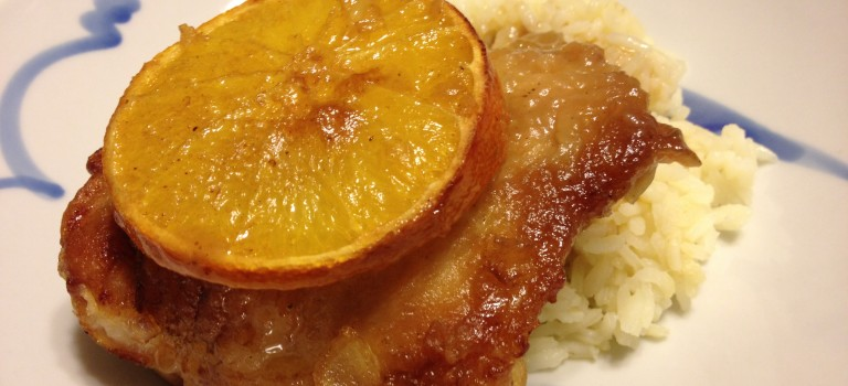 Pollo Con Naranja (Chicken with Orange)