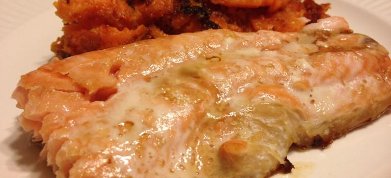 Salmon with Sesame Oil and Tamari