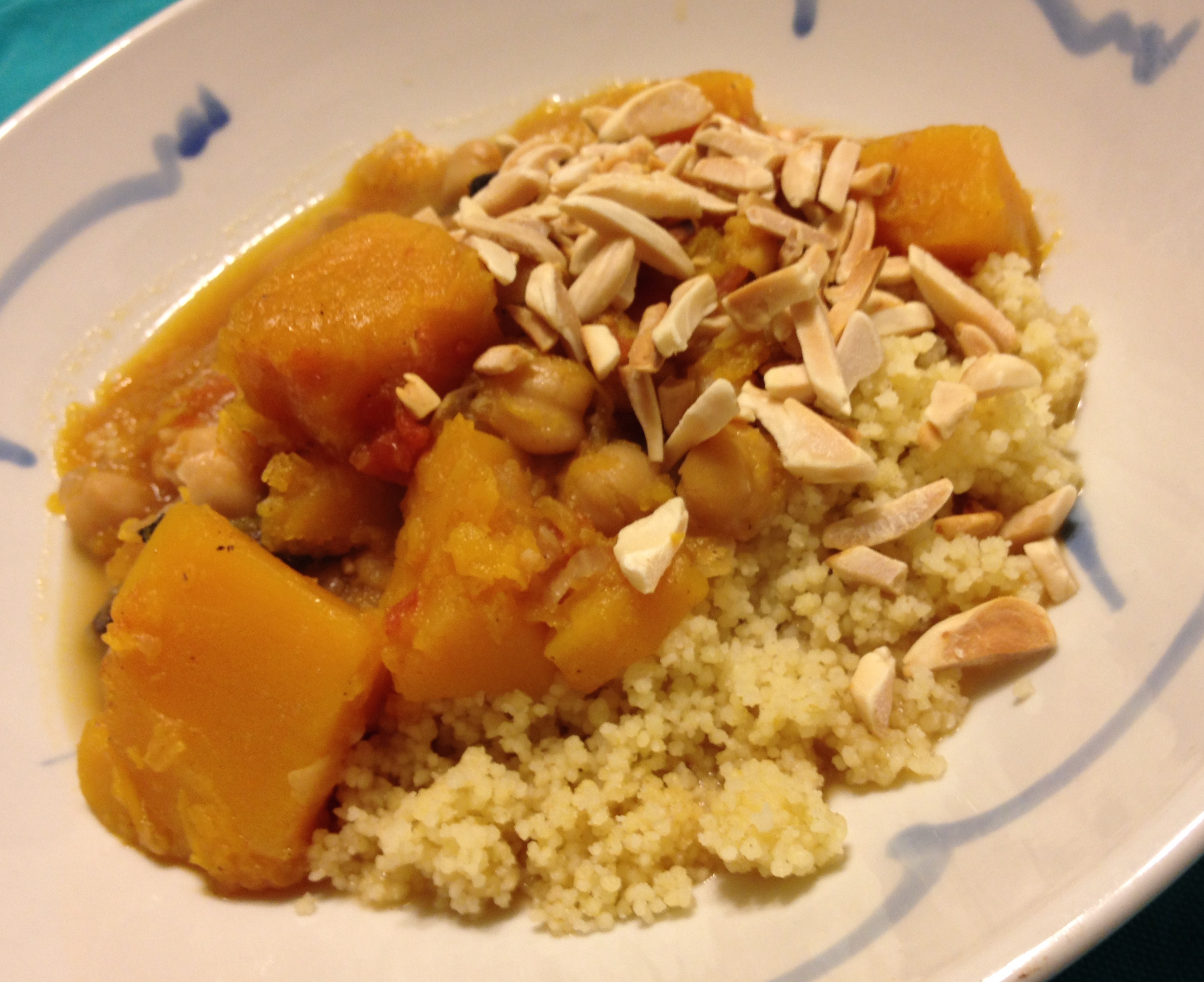 Butternut Squash with Cumin Couscous