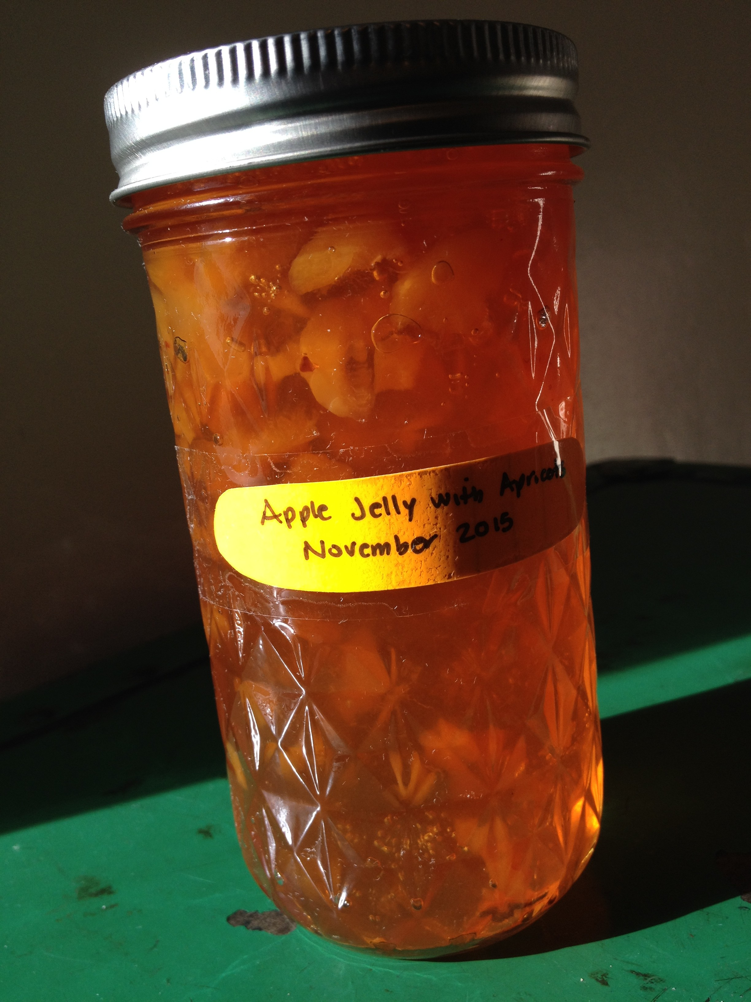 Apple Jelly with Apricots